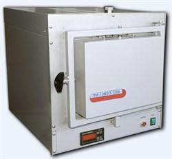 Печь муфельная ПМ-12М2-1250Т-В 8л, 1250°C, программируемый терморегулятор РТ-1250Т, вытяжка - фото 108332