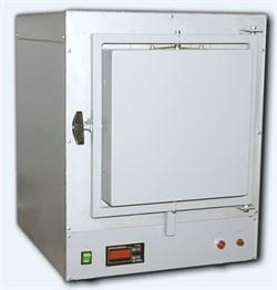 Печь муфельная ПМ-14М1-ТД-В 15л, 1250°C, электронный самописец Термодат-16Е3, вытяжка - фото 108377