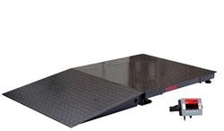 Комплект пандуса, окрашенная сталь, 0,8 м к весам серии Defender - фото 108475