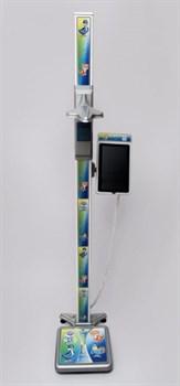 Весы напольные медицинские электронные ВМЭН-150С-50/100-СТ-ПК с планшетом - фото 109711