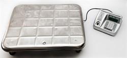 Электронные товарные весы с увеличенной платформой ВЭУ-200С-50/100-Д-У - фото 109744