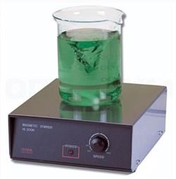 Магнитная мешалка с поверхностью из нержавеющей стали, 100-1000 об/мин, объем - 2.5 л HI 300N-2 - фото 110005