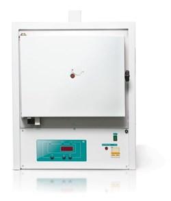 Муфельная электропечь ЭКПС  10  (тип СНОЛ,  рабочая  камера  из  МКРВ,  многоступенчатый микропроцессорный  регулятор,  автономная  вытяжка) - фото 110534