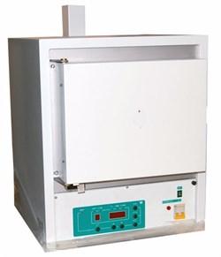 Муфельная электропечь ЭКПС  10  (тип СНОЛ,  рабочая  камера  из  МКРВ, корпус из нержавейки,  многоступенчатый микропроцессорный  регулятор, автономная вытяжка) - фото 110535