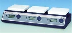Мешалка магнитная, цифровая, 3-х местная с подогревом - фото 111608