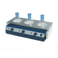 Колбонагреватель 3-х местный, 1000мл, аналоговое упр., +450°С - фото 111671