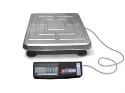 Торговые весы ТВ-S-200.2-А1 без стойки с ЖКИ индикатором, аккумулятор - фото 14999