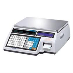 Весы торговые с печатью этикеток CL5000-15B TCP-IP - фото 21185