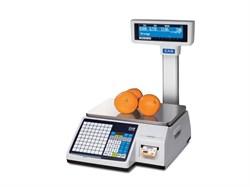 Весы торговые с печатью этикеток CL5000J-6IP TCP-IP - фото 21198