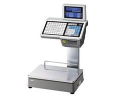Весы торговые с печатью этикеток CL5000D-6D TCP-IP - фото 21210