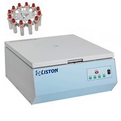 Центрифуга Liston C 2204 Classic в комплекте с ротором CRA 1215 и адаптерами (15шт) - фото 22350