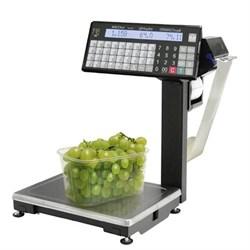 Торговые весы ВПМ-15.2-Т1 с печатью с подмоткой - фото 6725