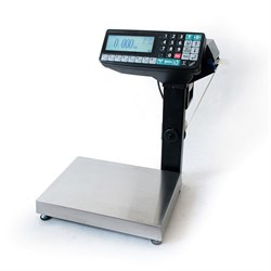Весы-регистраторы МК-6.2-RP10-1 с печатью этикеток, с подмоткой - фото 6774