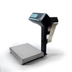 Торговые весы-регистраторы МК-6.2-R2P10-1 с печатью этикеток, с подмоткой - фото 6780