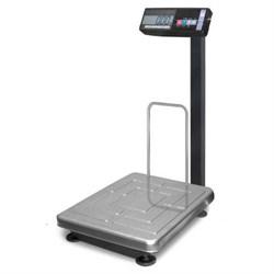 Торговые весы ТВ-S-60.2-А3 со стационарной стойкой, с ЖКИ индикатором, аккумулятор - фото 6793