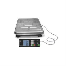 Товарные весы с расчетом стоимости ТВ-S-200.2-Т1 без стойки, с ЖКИ индикатором, аккумулятором - фото 6806