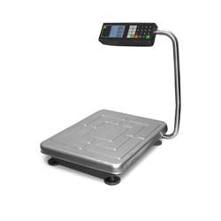 Товарные весы с расчетом стоимости ТВ-S-200.2-Т2  со складной стойкой, с ЖКИ индикатором, аккумулятором - фото 6810