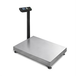 Товарные весы с расчетом стоимости ТВ-М-600.2-Т3 со стационарной стойкой, с ЖКИ индикатором, аккумулятором - фото 6822