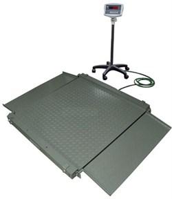 Платформенные весы ЕВ4-WI-5R-1500 с подвижной стойкой - фото 7050
