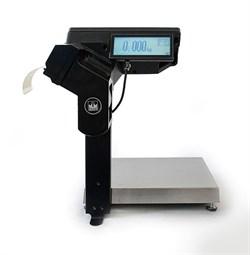 Торговые весы-регистраторы МК-15.2-R2P10-1 с печатью этикеток, с подмоткой - фото 71213