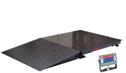 Большегрузные платформенные весы Defender DF32M1500BS - фото 7398