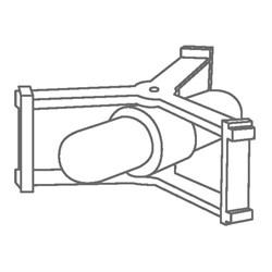 Элемент перемешивающий магнитный цилиндр с корзине 74 х 29 мм, ПТФЭ, IKAFLON 74 - фото 74408