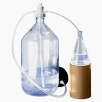 Перекачивающая система ПЭ-3000 для агрессивных жидкостей с ножным насосом - фото 8261