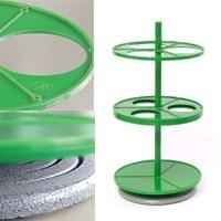 Штатив ПЭ-2960 для 3-ох круглых и грушевидных делительных воронок 250 и 500мл - фото 8281