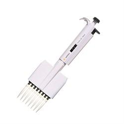 720210 Дозатор механический 8-канальный BIOHIT Proline® варьируемого объема, 0.5–10 мкл - фото 88194