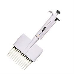 720310 Дозатор механический 12-канальный BIOHIT Proline® варьируемого объема, 0.5–10 мкл - фото 88197