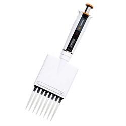 LH-729120 Дозатор механический 8-канальный BIOHIT Tacta® варьируемого объема, 0.5–10 мкл - фото 88259