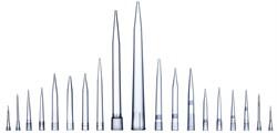 790351 Наконечники для дозаторов  Optifit 350 мкл, 54 мм, стерильные, в штативе 10х96 шт. - фото 88354