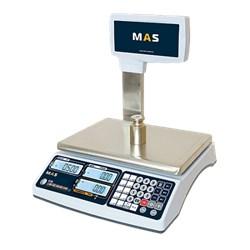 Весы торговые с дисплеем для покупателя на стойке RS-232 MR1-15P - фото 94197