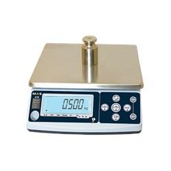 Весы порционные с дополнительным дисплеем на задней стороне корпуса. RS-232 MSC-25D - фото 94222