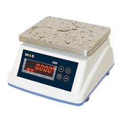Весы порционные пылевлагостойкие с классом защиты IP-65 с дополнительным дисплеем на задней стороне корпуса MSWE-3D - фото 94237