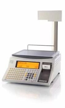 """Торговые весы со стойкой SC II 200, 6/15 кг, пленочная клавиатура, Ethernet, TCP/IP, 2""""E - фото 94542"""