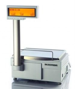 """Торговые весы со стойкой SCII 200, 6/15 кг, кнопочная клавиатура, Ethernet,  2""""E , шт - фото 94569"""