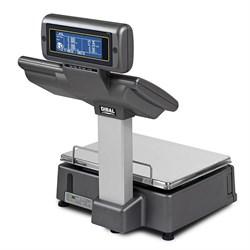 Весы с чекопечатью M-525,  с дисплеем и клавиатурой для управления, Ethernet, сегментный дисплей - фото 96071