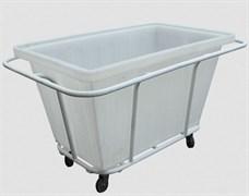 Тележка тп 27.2, пластиковый контейнер, 400л
