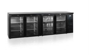 Шкаф холодильный со стеклом TEFCOLD CBC410G барный черный