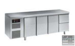 Стол с охлаждающим шкафом ANGELO PO 6MC2A