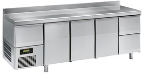 Стол с охлаждающим шкафом ANGELO PO 6EC2A