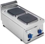 Плита 2 конфорочная 700серии TECNOINOX PCS35E7