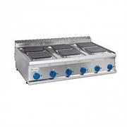 Плита 6 конфорочная 700 серии TECNOINOX PCS105E7 616010