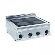 Плита 4 конфорочная 700 серии TECNOINOX PCS70E7 616009