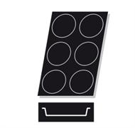 Форма силиконовая круг 6 порций 60х40см PADERNO 47740-72