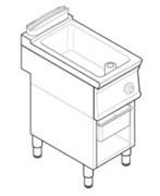 Сковорода 740 серии TECNOINOX BRM4FE7 716071