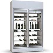 Шкаф винный ENOFRIGO WINE LIBRARY+2P ISLAND H220 P60 черный