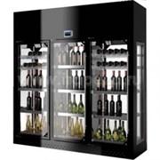 Шкаф винный ENOFRIGO WINE LIBRARY+3P ISLAND H220 P60 черный