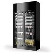 Шкаф винный ENOFRIGO WINE LIBRARY+ 2P 4V H260 P60 черный